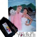 Poročni portret v barvah