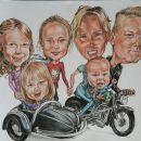 Družinska zabavna karikatura