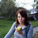 jaz na kolesarjenju jabolček