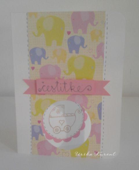 Otroška za deklico s slončki