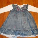 Jeans za deklice ( Benetton, Next),...