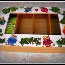 Lesena škatla za čaj 2012