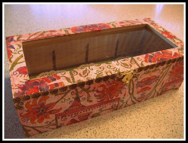 Lesena škatla za shranjevanje 2013