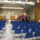 Avla MO Kranj, prizorišče premiernega koncerta Kranjskega okteta