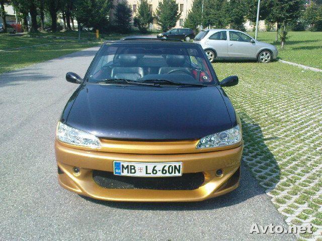 Peugeot 306 cabrio - foto