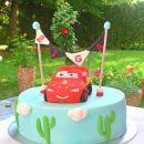 strela mcqueen torta