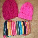 Zimski šali in kape