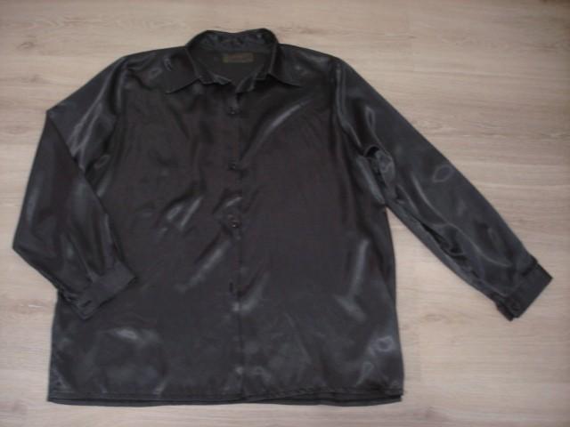 Srajca, svetleča, črna XL....4€