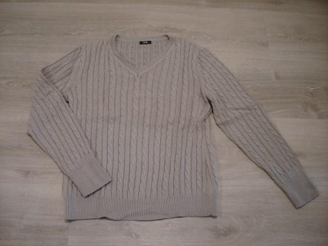 Pleten pulover L...5€