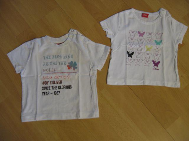 S.oliver majica št.62-68, kos 2,5€