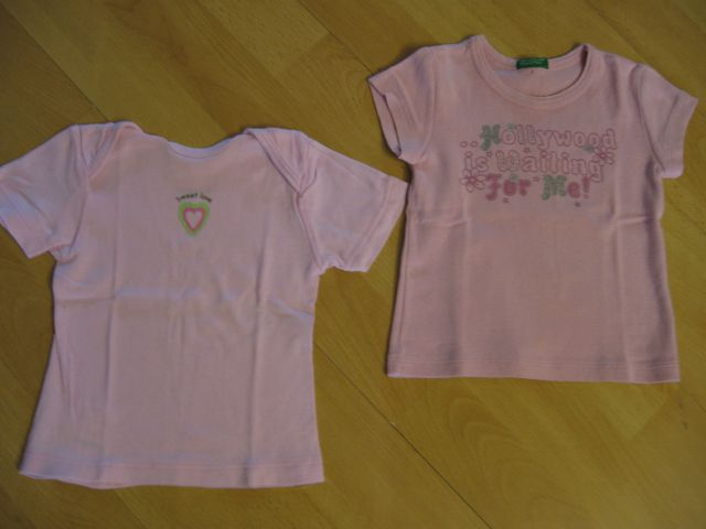 Benetton in impidimpi majica št. 62-68, kos 2€