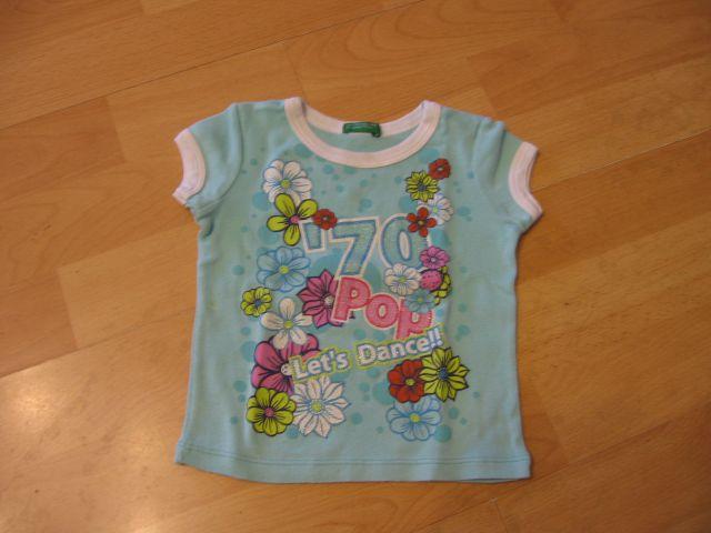 Benetton majica št. 74,...2,5€