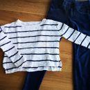 Poletni pulover crop top krajši HM 134-140