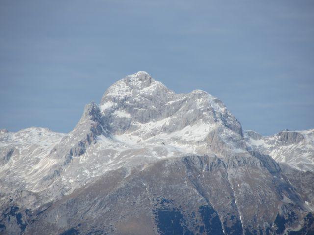 Mogočna gora - pogled s Šavnika