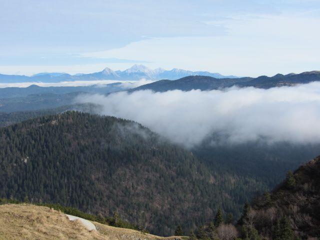 Pogled na Grintovce