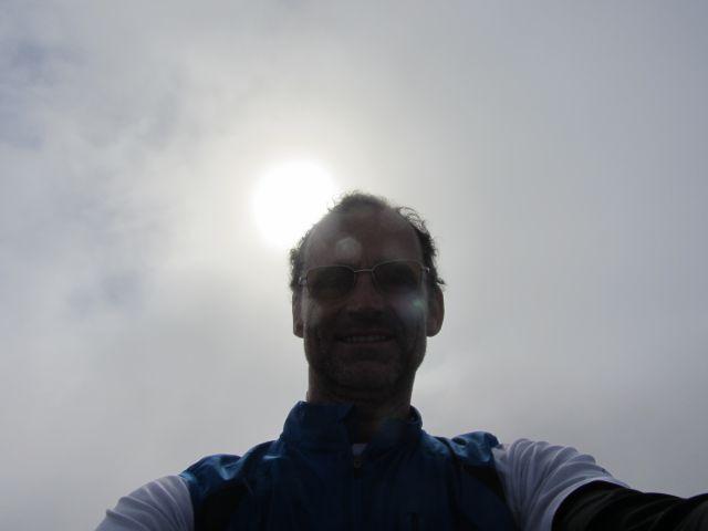 Sonce se je vedno znova prebijalo skozi oblake