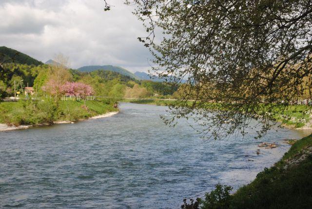 Antenin tek čez viseči most 2013 - foto