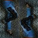 Jeans + čipka