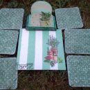 darila - podstavki za kozarce *Zelišča*