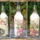 darila - steklenica *vrtnice*