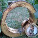 darila - ogledalo in okvir *Votlo deblo*