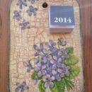 darila - koledar *vijolice*