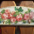 darila - obešalnik *vrtnice*