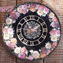 darila - stenska ura *vrtnice2*