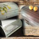prenova škatle za kruh *limone*