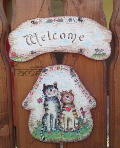 Darila - napis *Welcome2*