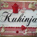 darila - napis za na vrata *kuhinja*