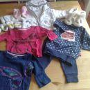 Komplet oblačil za punčko Next, Gap, Mimo&Co., Adidas, št 56 in 62