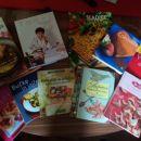 Komplet 10knjig/kuharic 50€ s pptjem
