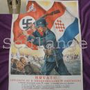 Recruting poster for German police and Waffen SS in NDH Croatia
