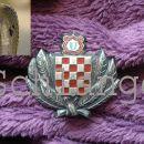 Croatian Treasure Guard cap insgnia