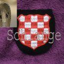 Croatian SS Schild 1. type