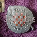 Insignia for 369. Croatian regiment in Wehrmacht