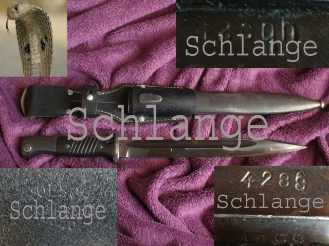 Cqh42 Clemen & Jung Solingen K98 bayonet