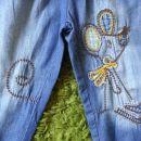 mana jeans hlače 68 in 74 ala next