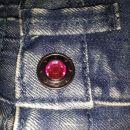 bermuda jeans hlače 86/92, nove