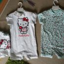 H&M PIŽAMICI/BODI HELLO KITTY 68, 80 IN 86 - NOVE