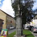 Martinov spomenik v zahvalo, da njegone družine ni prizadela kuga