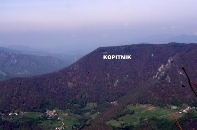 12. 4. POHOD NA VELIKO KOZJE - Višina: 993 m - foto