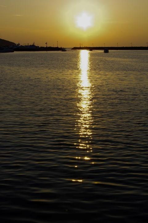 11.  avgust - večer na obali - foto