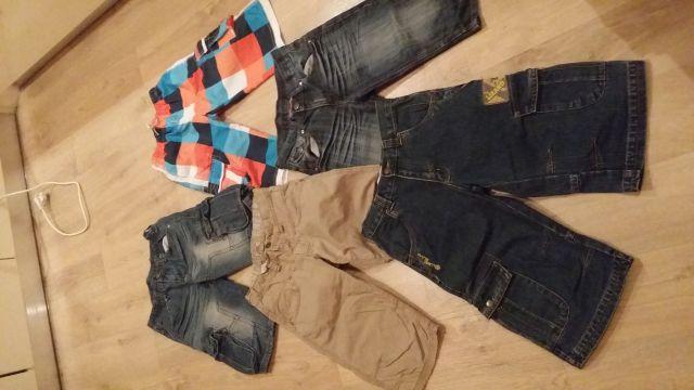 Fantovska lepo ohranjena oblačila  134-140