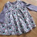 Oblekica H&M, majčka Next, 86 (12/18 M)
