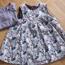 Oblekica H&M, majčka Next, 86