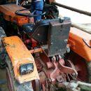 Traktor na ogledu pri lastniku