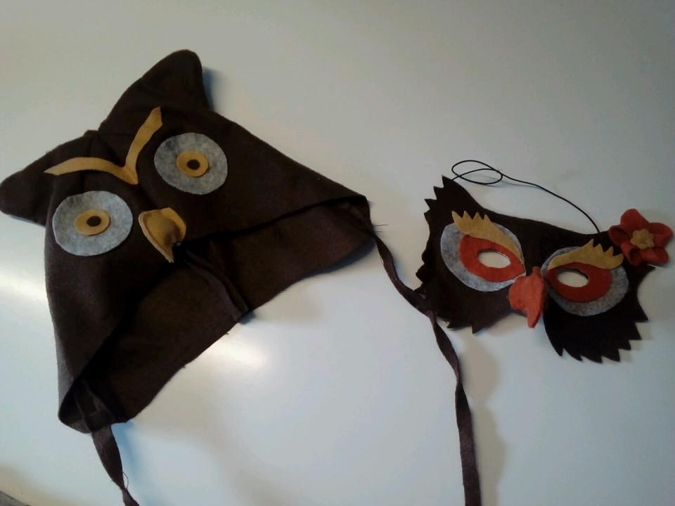 maska in čepica