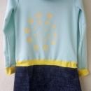 Zenska obleka, katera se lahko nosi tudi na hlace :)
